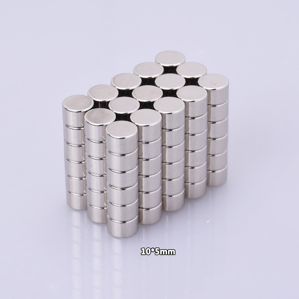 10x5mm Neodymium Magnets Super Strong Fridge Rare Earth Refrigerator Permanent Craft Magnet 10pcs
