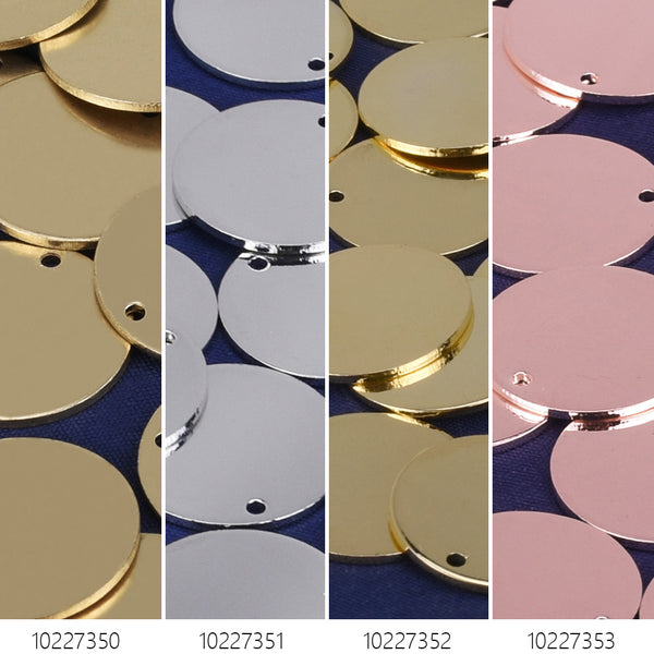 "11/16"" Brass Round Stamping Blanks Disc Round Findings stamping supplies 10pcs 102273"