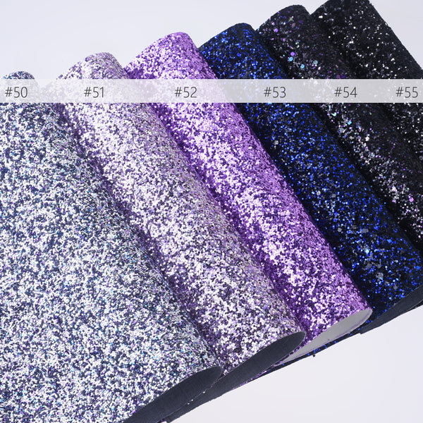 "8*12"" Glitter Faux leather sheets Glitter Fabric Sheet PU Synthetic Leather Sheets headbands 1pcs 102637"