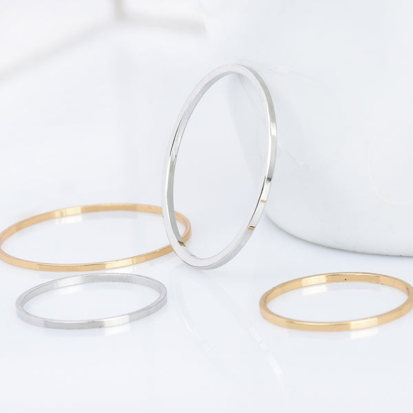 Brass 28mm/20mm Circle Hoop Earrings accessories Round Earrings with single hole Minimalist Earrings Geometric Jewellery 10pcs 102825