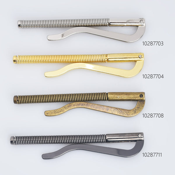 75MM Metal Spring money clip Bar for Men Wallet Gift wallet Clips DIY Leather Accessory Hardware Tool 1pcs 102877