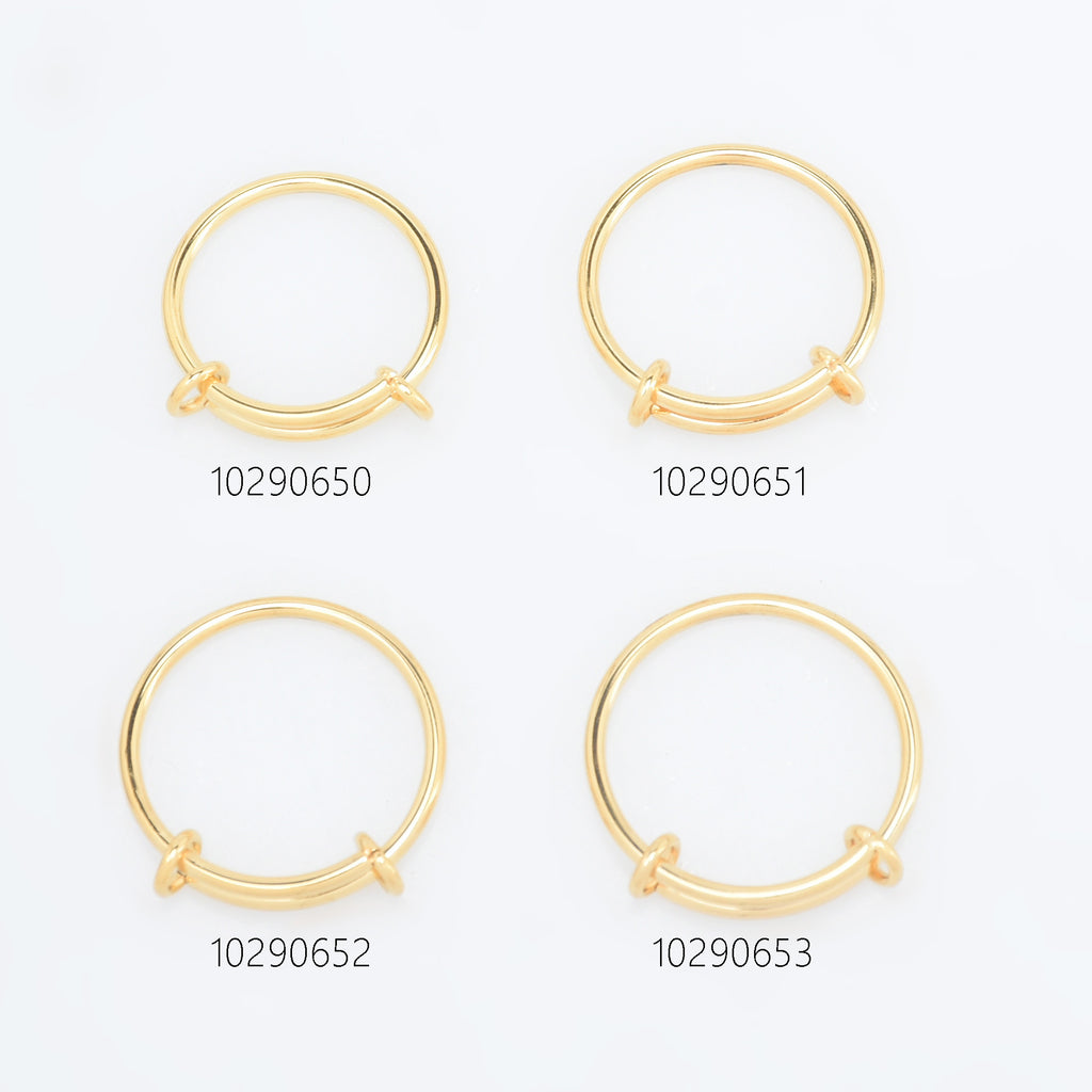 1.6mm Stainless Steel Ring Alex Stainless steel Coil Ring Hypoallergenic Simple Ring Minimalist Ring DIY Jewelry 1pcs 102906
