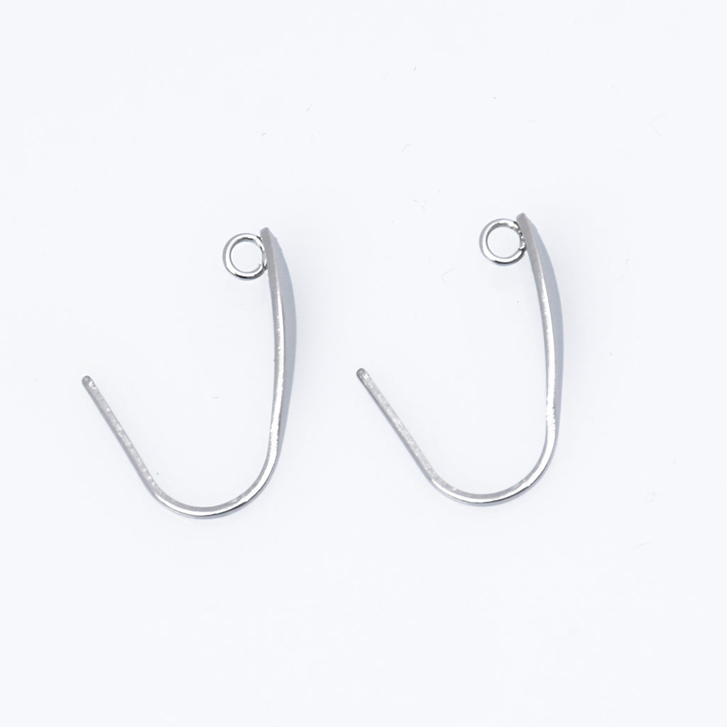 TOP QUALITY 20PCS 50PCS STAINLESS STEEL FISH  HOOK  EARRING WIRES