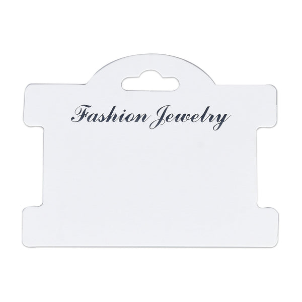 75*95mm Headband and necklace Display Cards Hairbow Display Cards Jewelry Making 50pcs 10296450