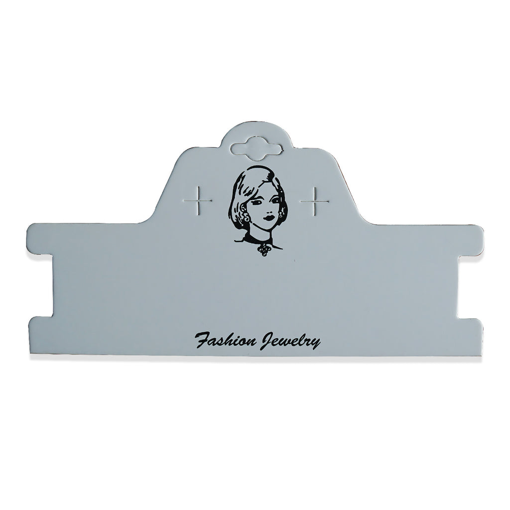90*180mm Headband Display Cards Necklace Display Card Jewelry Display Cards wholesale supplies 50pcs 10296850