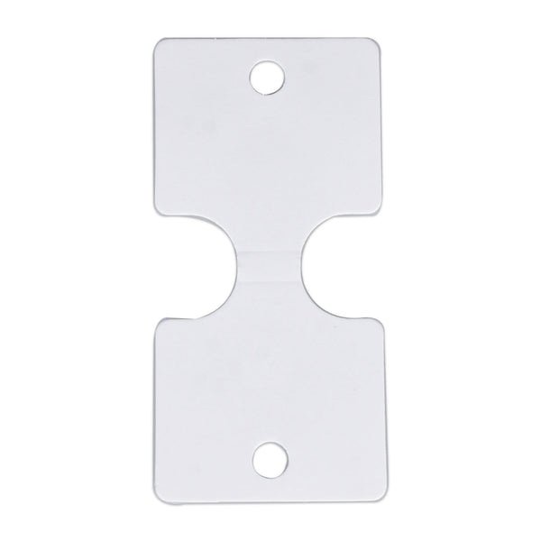 45*93mm White Headband Hanger Cards Hair-Bow Display Cards Jewelry Supplies 100pcs 10297250