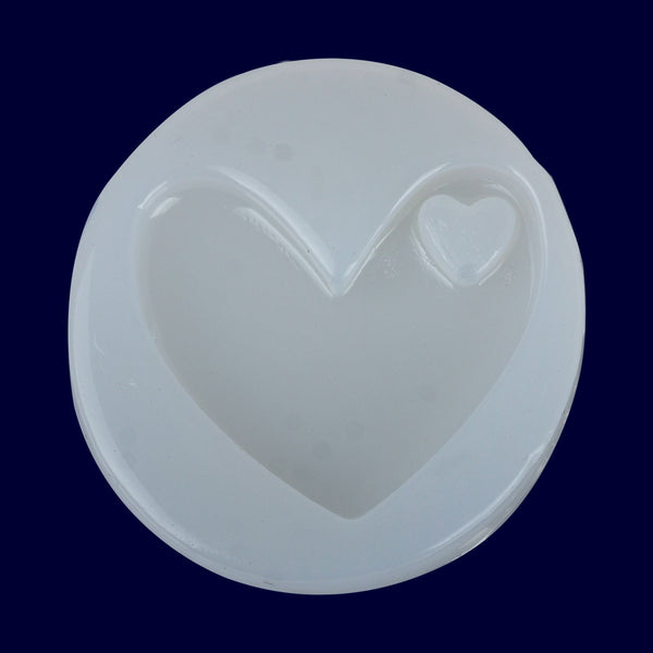 34*38mm Heart silicone mold Mirror mould Keychain Molds for gift diy craft making supplies 1pcs 10297650