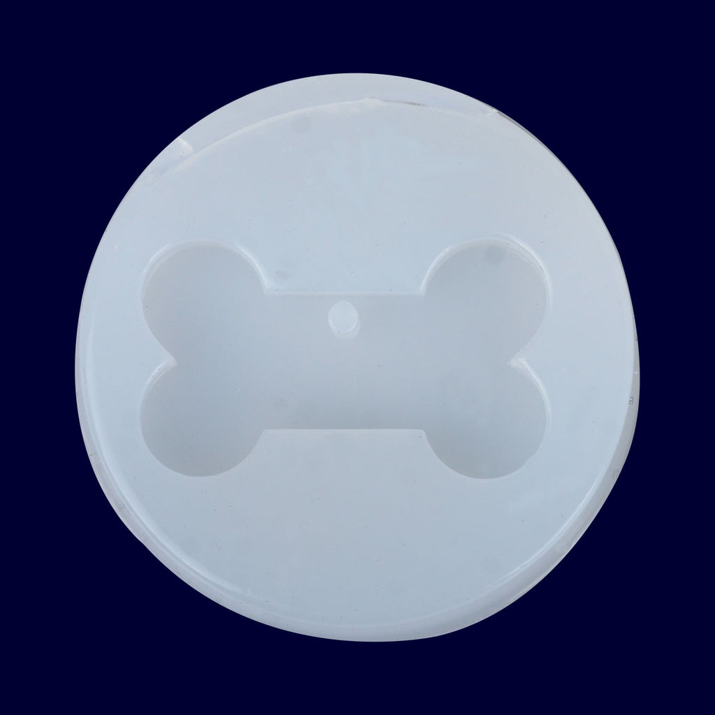 20*35mm Dog Bone Silicone Mold Pet Tag Pendant Mold Jewelry Pendant DIY with Hanging Hole 1pcs 10297850