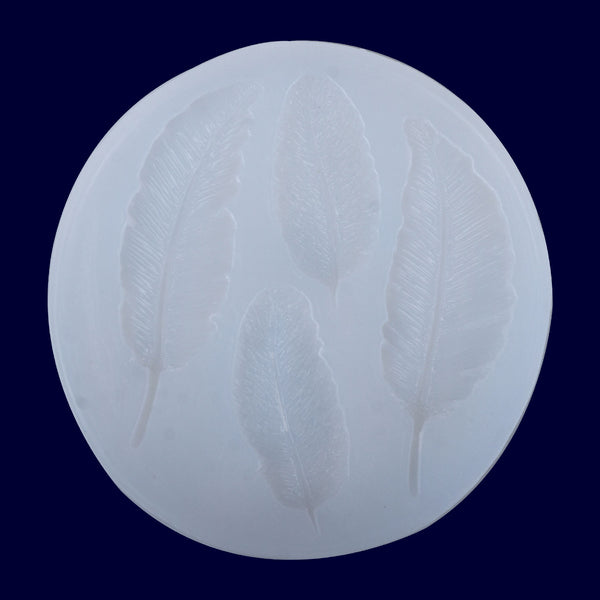 85*85mm Feather Silicone Mold Craft Mold Jewelry Mold phone accessories 1pcs 10298650