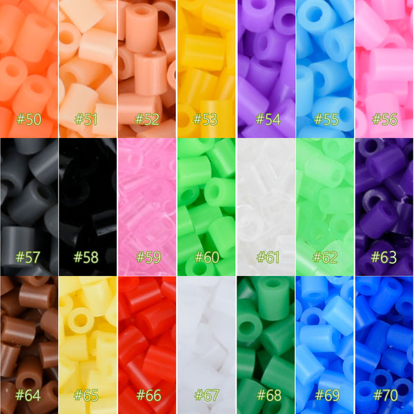 2.6mm Mini Tube Beads Fun Fusion Plastic beads Craft DIY Handmaking Toys Beads Colors of Your Choice 1000pcs 103114