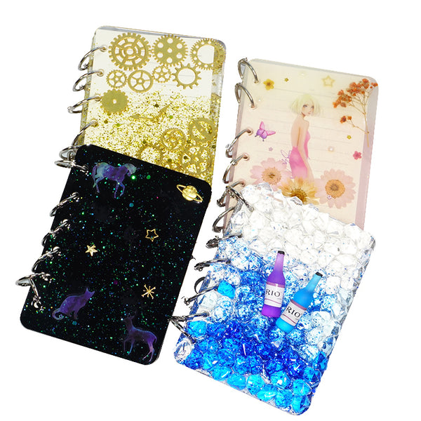 Silicone Notebook Cover Mold DIY Silicone Resin Mold Kits A5/A6/A7 Mold For Student Gift 103293