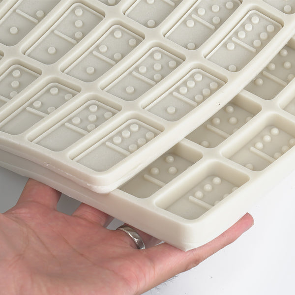 1 pcs Silicone Dominos Mold For 2*1 inch Standard size domino pieces, DIY Resin Dominos Molds 10335