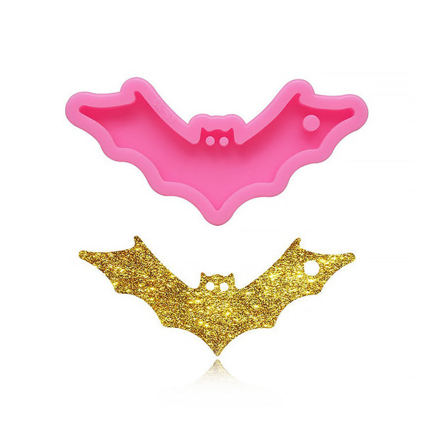 1 piece Silicone Bat Mold For Keychain, Resin Keychain Mold, Decorative Key Craft 10338350