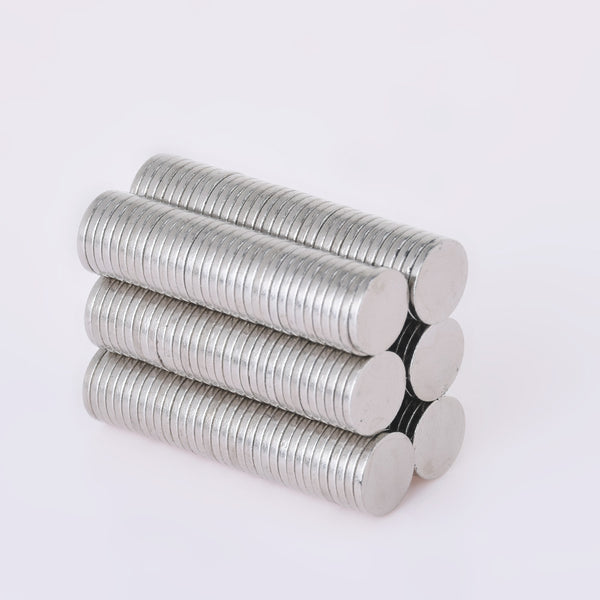 100 Disc Cylinder 8X1mm Super Strong Rare Earth Neodymium Magnets Craft Magnets Small Fridge Patch
