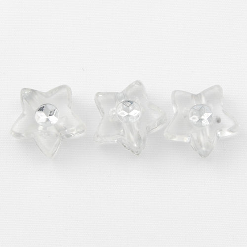 4.5*9 MM Plastic Beads with diamond,Sold per pkg of  3000 PCS