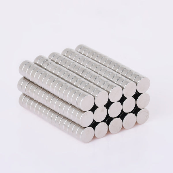 100 Disc Cylinder 5x2mm Super Strong Rare Earth Neodymium Magnets Craft Magnets Small Fridge Patch