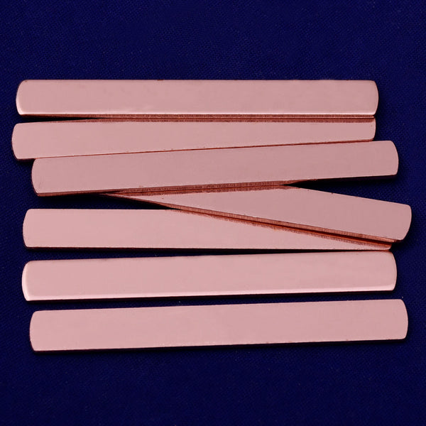 "20pcs about 1/4*2"" tibetara®  Copper Metal Stamping Blank metal blanks Jewelry Stamping Blank 18 Gauges 10186650"