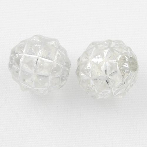 8 MM Silver Line Plastic Beads,Sold per one package of 2300 PCS