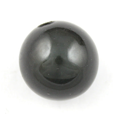 Top Quality 30mm Round Miracle Beads,Smoky Gray,Sold per pkg of about 37 Pcs