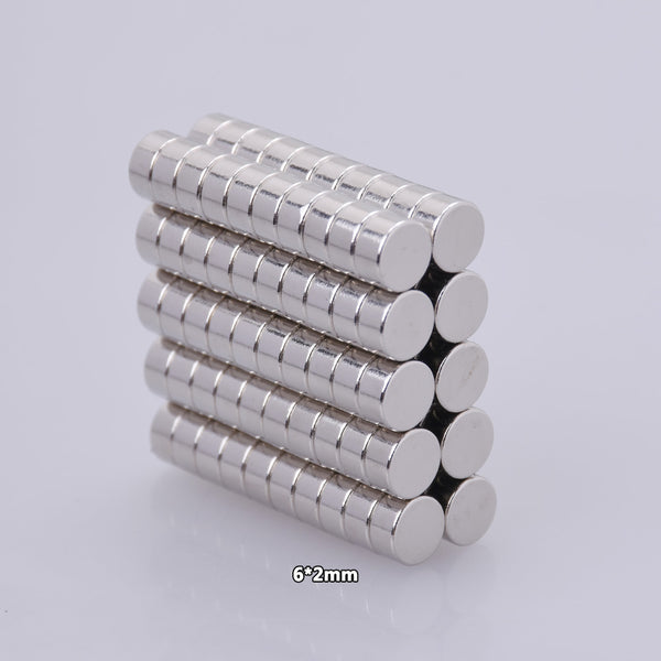 6x2mm Neodymium Magnets, Rare Earth Magnets, Disc Magnets, Supplies, Strong Magnets, Small Magnets,Craft Supplies, Magnets,DIY Supplies 50pcs