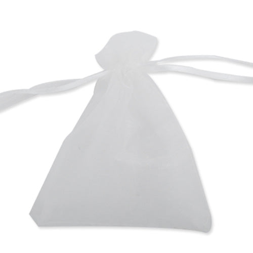 100*120 MM White Organza Jewelry Gift Pouch Bags ,Sold 100 PCS Per Lot, Great For Wedding Favors, Sachets, Beads, Jewelry and so on