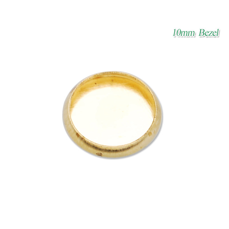 10MM Brass round cabochon setting,raw brass,lead and nickle free,sold 50pcs per pkg