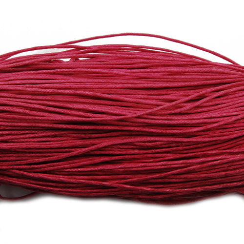 450M/Roll,1.0MM Red And Soft Cotton Waxy Cord