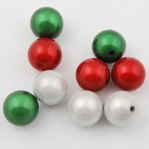 20mm Christmas mixed package miracle beads,sold about per pkg of120 pcs