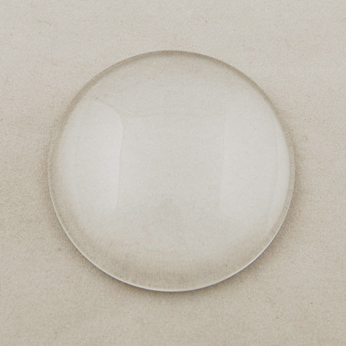 50MM Round Flat Back clear Crystal glass Cabochon,10.2MM Thick,Top quality,Sold 10PCS Per Package