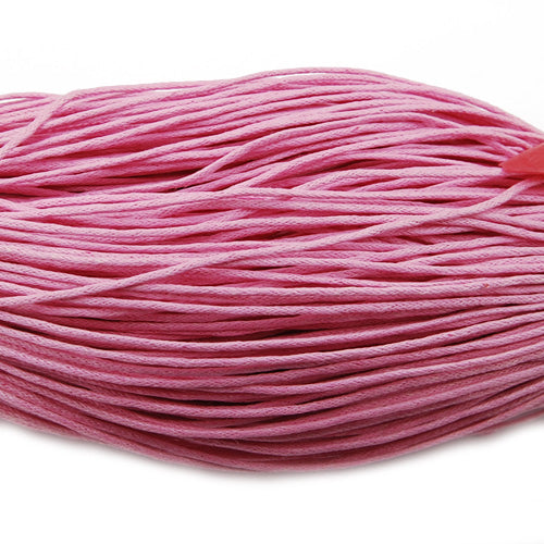 450M/Roll,1.5MM Pink And Soft Cotton Waxy Cord