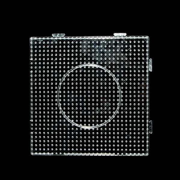 Clear Square Hama bead pegboard hama bead template for 5mm Hama Beads Kid Craft 145mm,1pcs