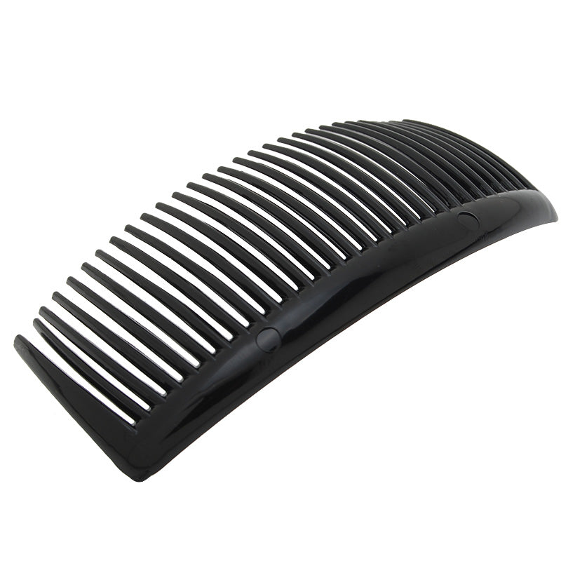 105x49mm Black Acrylic hair comb with 29  teeths,20pieces/lot