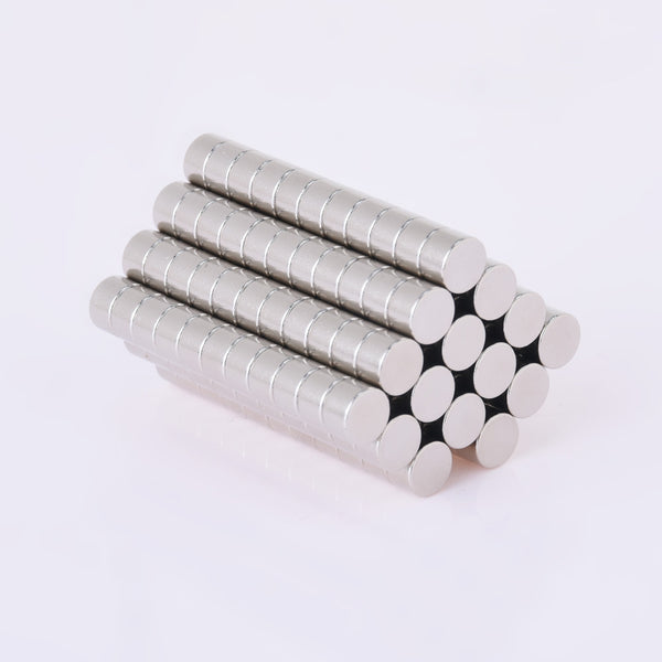 100 Disc Cylinder 5x3mm Super Strong Rare Earth Neodymium Magnets Craft Magnets Small Fridge Patch