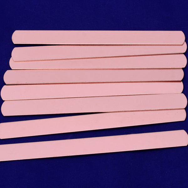"About 6""*1/2"" tibetara®  Copper rectangle stamping blank metal blanks Stamping Supplies 5pcs 18 Gauges 10169150"