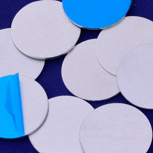 "20pcs about 3/4"" tibetara® aluminum round shape Stamping supplies Metal Blank Fantastic Shine 18 Gauges"