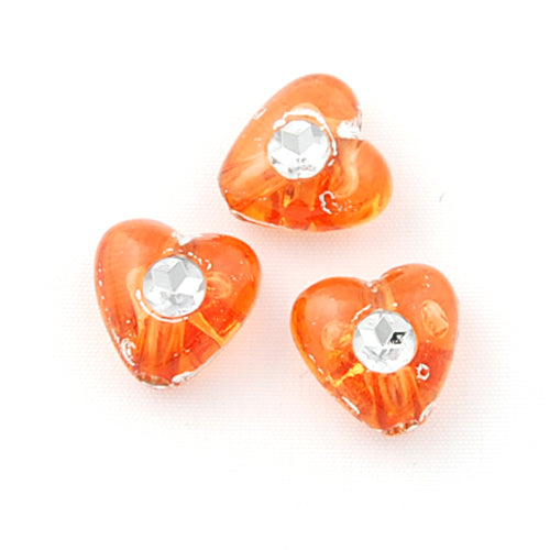 8 MM Plastic Beads with diamond,Sold per pkg of 3300 PCS