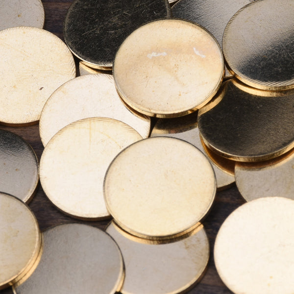 about 14mm  Nonporous circular sheet brass,Brass Blanks stamping blanks tags,Jewelry Making Discs,Thickness 1 mm,Metal,50pcs/lot