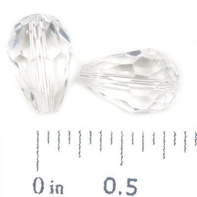 10*15 MM Teardrop,Crystal,Handmade Cut Glass Crystal Beads