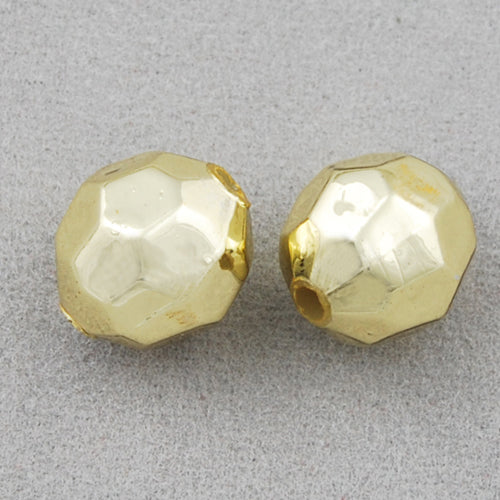 9.5*10 MM Coated Beads,Gold,Sold per by one package of 1100 PCS