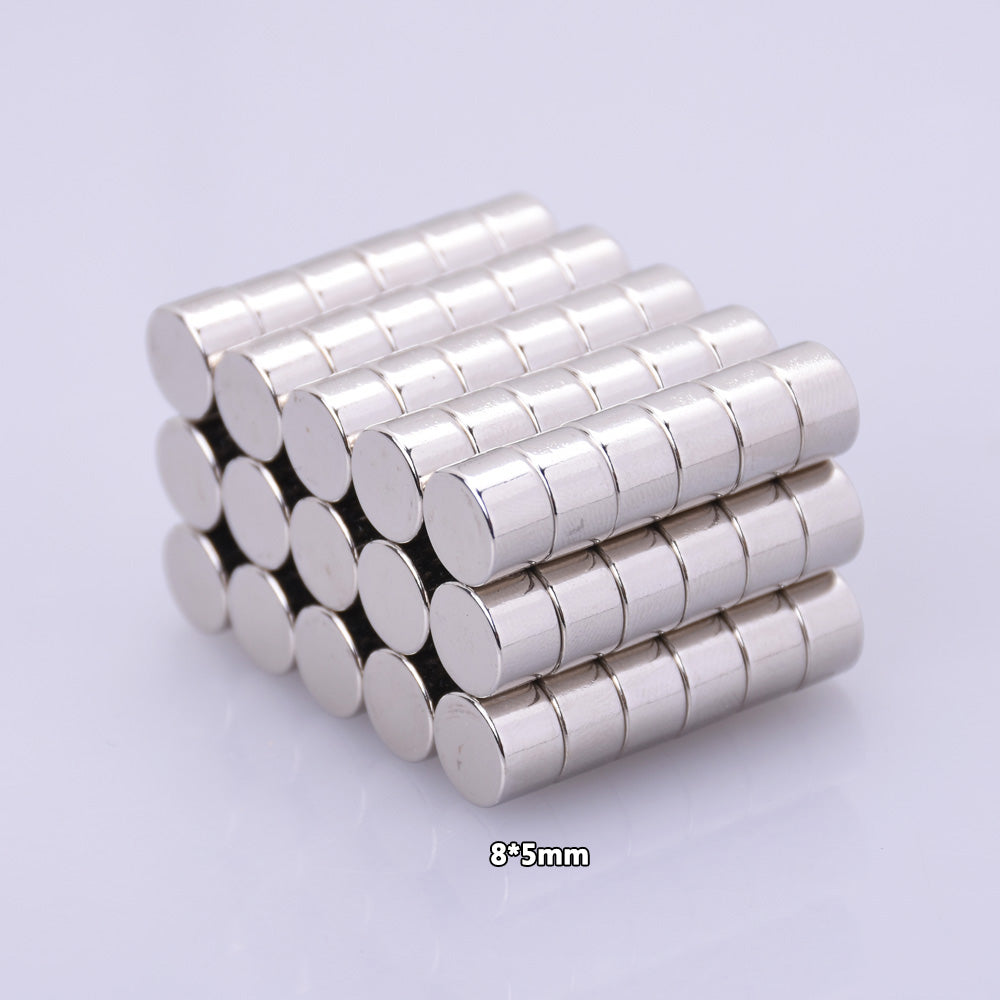 8x5mm Neodymium Magnets Super Strong Fridge Rare Earth Refrigerator Permanent Craft Magnet 10pcs