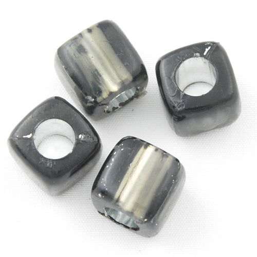 7.5 MM Silver Lined Hole Plastic Beads,Sold per one package of 1600 PCS