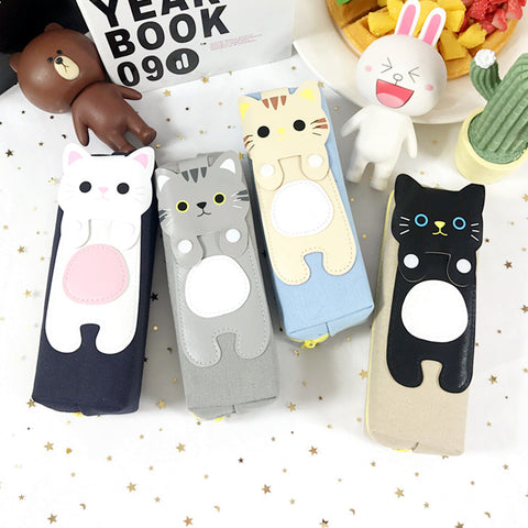 Cute Kitten Pencil Case