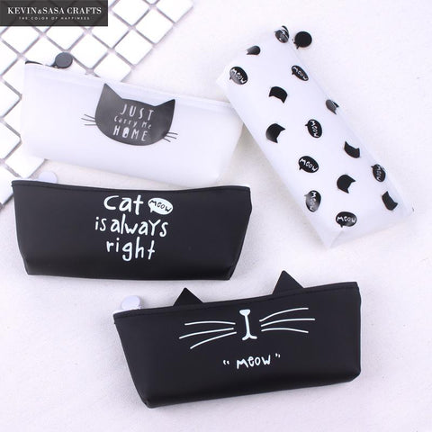 Cat Quote Pencil Case