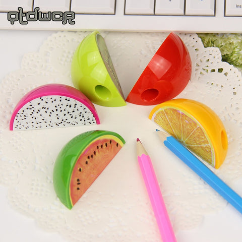 Fruit Slice Pencil Sharpener