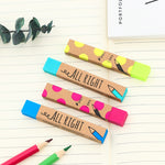 """All Right"" Pencil Eraser"