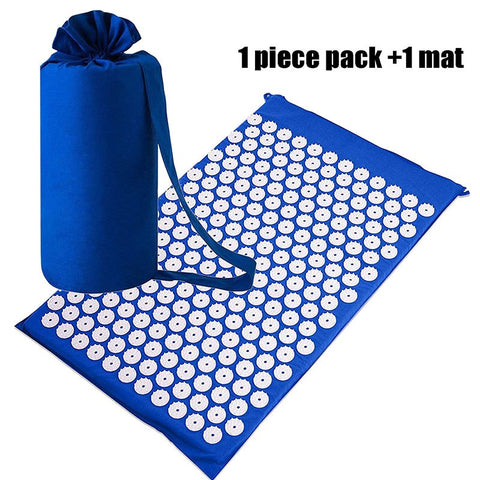 Cushion Shakti Body Pain Acupuncture Spike Yoga Mat with Massage Pillow