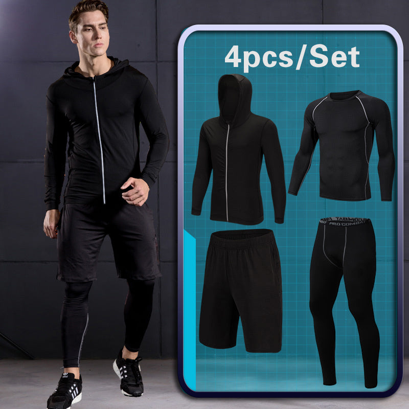 GYM Tights Sports Men's Compression Sportswear