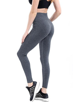 Women Yoga Pants High Elastic Fitness Sport Leggings Trousers