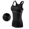 Image of New Yoga Tops Women Sexy Gym Sportswear Fitness tight woman clothing Sleeveless Running shirt
