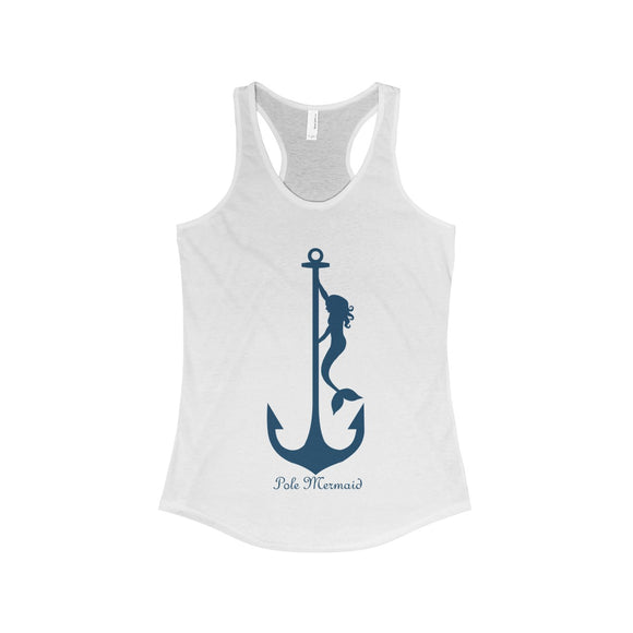 Pole Mermaid - Hurricane Racerback Tank